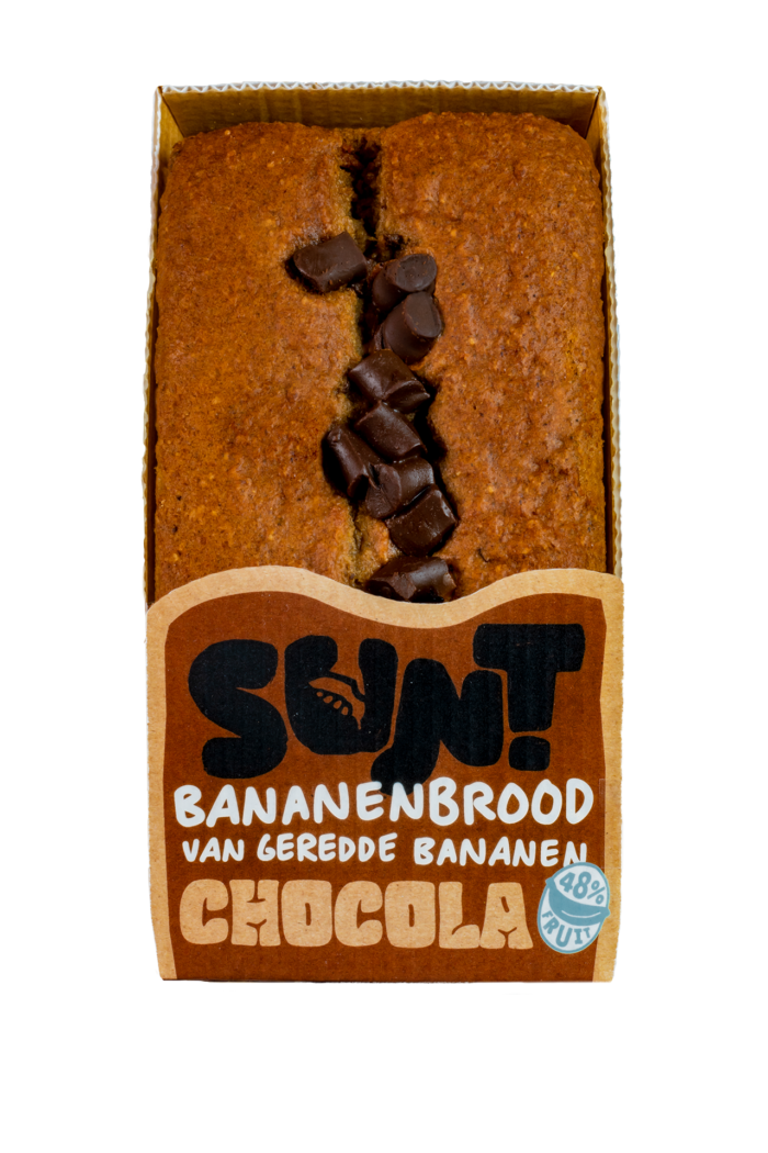 SUNT chocolade bananenbrood