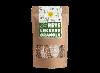 Retelekkere Granola Van Bananenbrood Kontjes